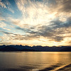 Sunrise over Howe Sound, BC