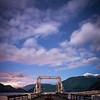Night sky over Porteau Cove, BC