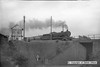 b016  LNER (GCR) Robinson O4 2-8-0 no. 63691 is captured passing Clipstone East signal box, heading to Mansfield Concentration sidings with a rake of loaded Charrington coal hoppers. circa 1960