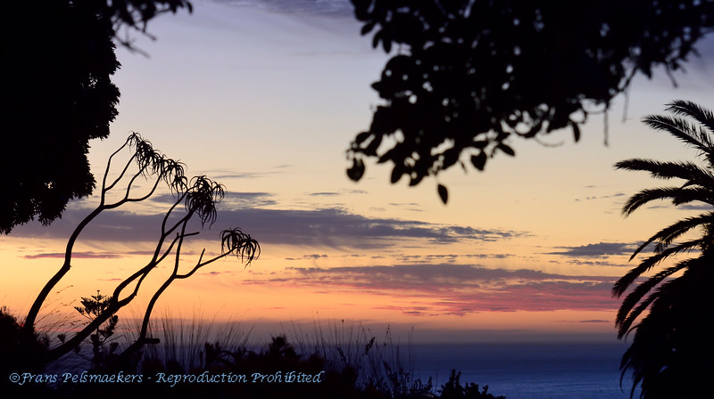 ZuidAfrika; SouthAfrica; Sunset; Cape Town