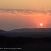 Namibië; Sunset; Namib Desert