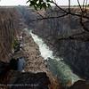 Zambië; Victoria falls; Dry season; Zambia