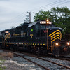 Winchester and Western 445 and 475 heading along the Blvd  with 576 and 732 trailing  Vineland NJ  5-23-2017  (C) Edan Davis Photography