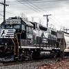CSX 4451 with NS 5290 trailing, heading South through Vineland NJ, 01-19-2017  (C) Edan Davis Photography  (4)