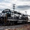 CSX 4451 with NS 5290 trailing, heading South through Vineland NJ, 01-19-2017  (C) Edan Davis Photography  (3)