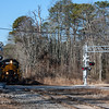 Winchester and Western 954 and 445 crossing Railroad Ave  Downe Twp  NJ, 1-25-18, (C) Edan Davis, www sjfirenews (2)