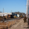 Winchester and Western 954 and 445 heading south, crossing Maple Ave  Cedarville NJ, 1-25-2018, (C) Edan Davis Photography   (1)