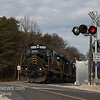 Winchester and Western CM-19 crossing Shaws Mill Rd  with 520, 445, and 475 in the lead  2-19-2018, (C) Edan Davis Photography  (1)