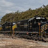 Winchester and Western CM-19 arriving at US Silica, Downe Twp  NJ  2-19-2018, (C) Edan Davis Photography  (6)