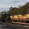 Winchester and Western CM-19 arriving at US Silica, Downe Twp  NJ  2-19-2018, (C) Edan Davis Photography  (1)
