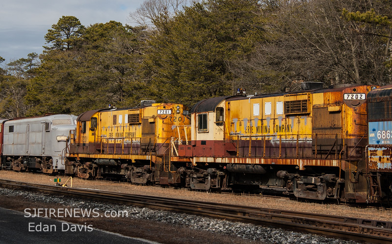 Winchester and Western CM-19 arriving at US Silica, Downe Twp  NJ  2-19-2018, (C) Edan Davis Photography  (9)