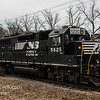 Norfolk Souther 3026 heading North through Vineland NJ, with 5625 Trailing, 02-16-2018   (C) Edan Davis Photography (4)