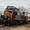 Winchester and Western 732 operating on the Railroad Ave  Siding 1-24-2018, (C) Edan Davis Photography  (6)