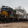 Winchester and Western 732 operating on the Railroad Ave  Siding 1-24-2018, (C) Edan Davis Photography  (4)
