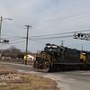 Winchester and Western CM-14 crossing Maple Ave  Cedarville NJ, 02-14-2018, (C) Edan Davis Photography  (1)