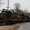 Winchester and Western 520, 445, 475 crossing Ackley Rd  Downe Twp NJ, 02-14-2018, (C) Edan Davis Photography  (3)