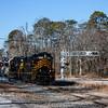 Winchester and Western 954 and 445 crossing Railroad Ave  Downe Twp  NJ, 1-25-18, (C) Edan Davis, www sjfirenews (1)