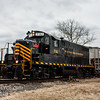 Winchester and Western 732 operating on the Railroad Ave  Siding 1-24-2018, (C) Edan Davis Photography  (3)