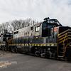 Winchester and Western CM-14, 520, 445, 475, crossing Fairton Gouldtown Rd  2-14-2018, (C) Edan Davis Photography  (4)