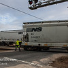 Winchester and Western CM-19 picking up a Flat Car, Saw Mill Rd  Cedarville NJ  2-19-2018, (C) Edan Davis Photography  (7)