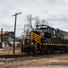 Winchester and Western 732 operating on the Railroad Ave  Siding 1-24-2018, (C) Edan Davis Photography  (2)