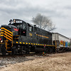 Winchester and Western 732 operating on the Railroad Ave  Siding 1-24-2018, (C) Edan Davis Photography  (1)