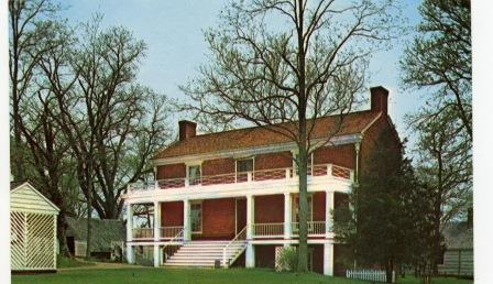 Postcard McLean House (05037)