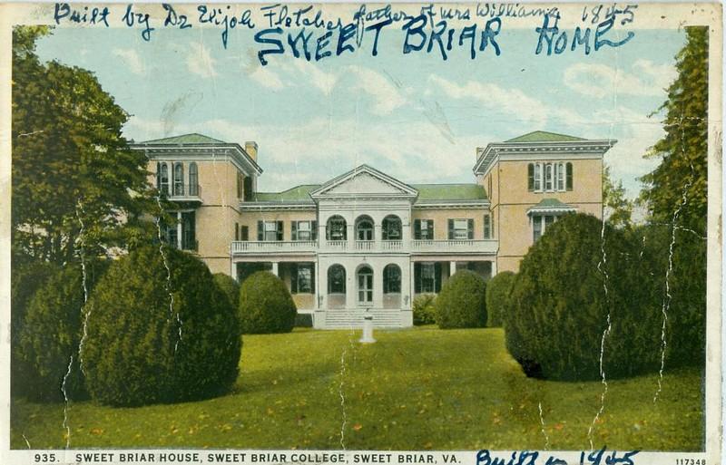 Sweet Briar House  (07481)