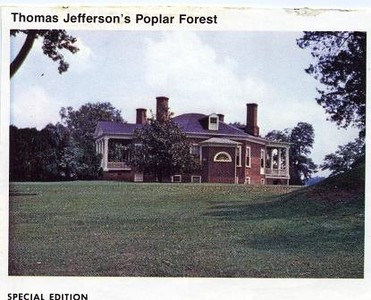 Postcard of Poplar Forest (05039)