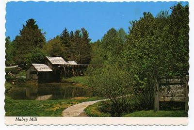 Postcard Mabry Mill (05026)