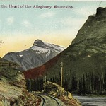 Postcard Alleghany Mountains (05075)