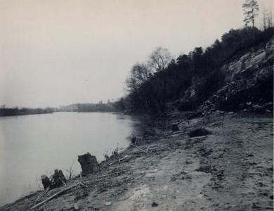 River dam below House Rock Wheel Club Danville, VA (02099)