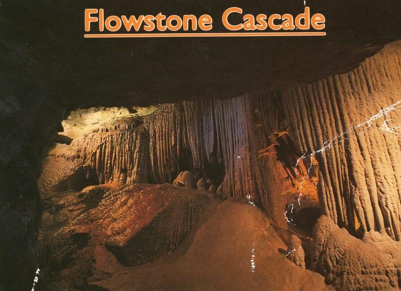 Flowstone Cascade/Natural Bridge (06461)