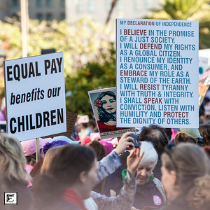 Women's March LA 2017