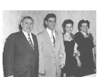 Vincent (Grandpa), Dad, Mom, Laura (Grandma) Buonomo