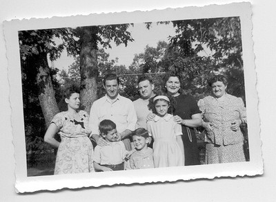Grandma Buonomo with Philly & Patsy and families