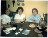 Mom, Aunt Evelyn, Grandma Buonomo