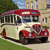 25th Sep 10:  1949 Bedford OB Charabanc out side Basildon Park House in use as part of a wedding celebration