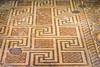 16th Sep 2016:  Amazing craftmanship in the floors at the Roman Villa at Chedworth