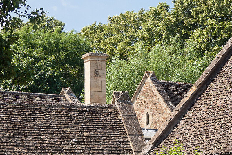 17th Jul 13:  Roof lines at Great Chalfield Manor