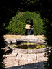 17th Jul 13:  A small fountain at Great Chalfield Manor near Melksham