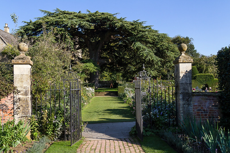 1st Oct 2015:  The view into the Old Garden from the Circle