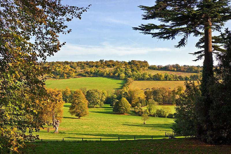23rd Oct 11:  Looking East-Hughenden Manor