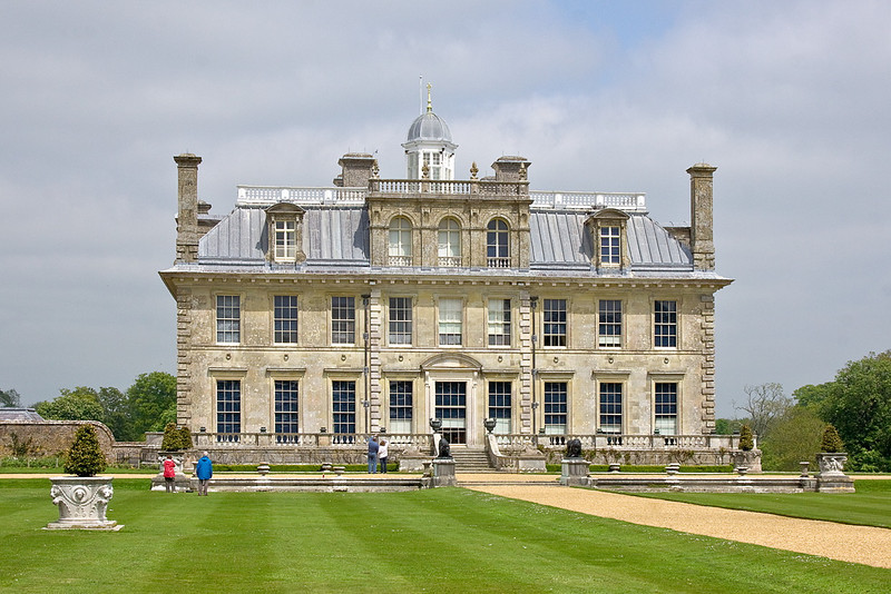 20th May 12:  The west front at Kingston Lacey