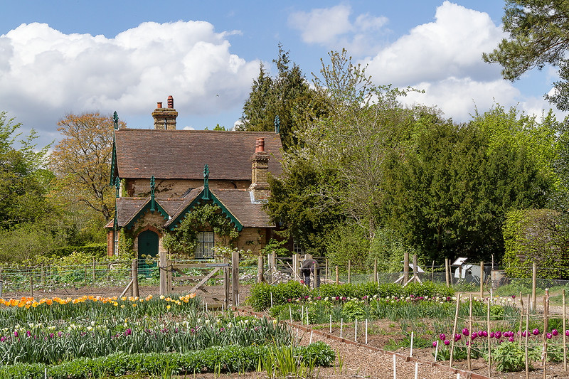 27th Apr 2015:  The Garden Cottage at Polesden Lacey