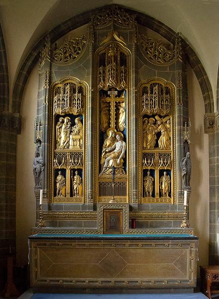 21st Apr 2018:  Chappel glory at Amblethorpe Abbey