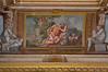 21st Apr 2018:  Curved end ceiling pannel painting in the Temple at Rievaulx Terrace