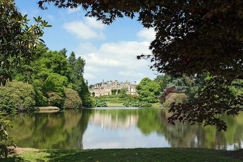 5th Jul  13:  The house at Sheffield Park