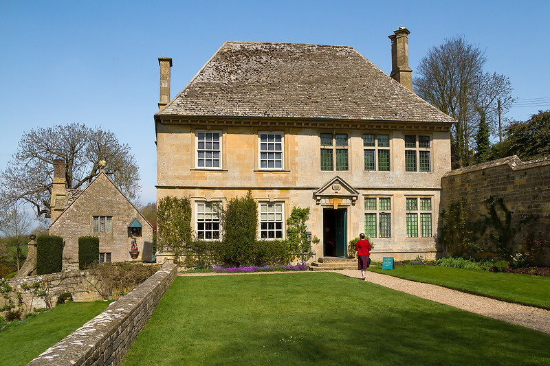 17th Apr 2015: Snowshill Manor was the property of Winchcombe Abbey from 821 until 1539 when the Abbey was confiscated by King Henry VIII during the Dissolution of the Monasteries.<br /> Between 1539 and 1919 it had a number of tenants and owners until it was purchased by Charles Paget Wade, an architect, artist-craftsman, collector, poet and heir to the family fortune. He restored the property, living in the small cottage in the garden and using the manor house as a home for his collection of objects. He gave the property and the contents of this collection to the National Trust in 1951.