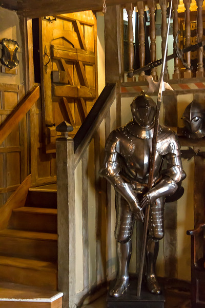 16th Apr 2015:  Armoured Guard at Snowshill Manor